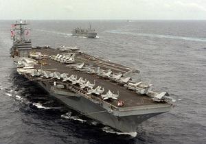 Авианосец США проследовал вдоль иранского побережья