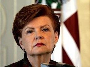 Вайра Вике-Фрейберга заявила о готовности работать на посту президента ЕС