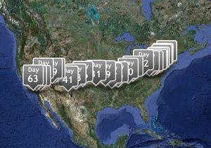 В США завершился забег по маршруту Форреста Гампа при участии безногого британца