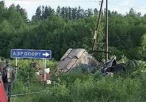 Названы три версии крушения Ту-134 в Карелии