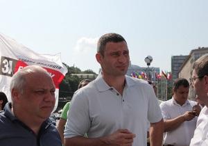 Опрос: В президентском рейтинге Кличко обогнал Тимошенко