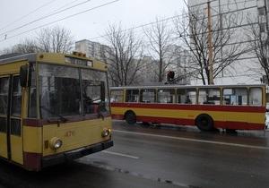 Власти обещают проложить троллейбусную линию между Киевом и Броварами