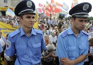 В центре Киева запретили проводить массовые акции в дни празднования Крещения Руси