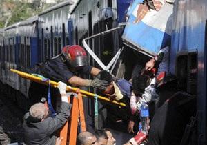 В Аргентине столкнулись два поезда, есть жертвы