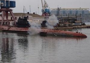 На подлодке Запорожье начались испытания двигателей