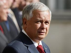 Качиньский подпишет Лиссабонский договор 10 октября