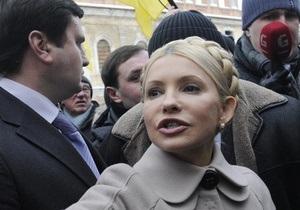 Батьківщина заявила, что во время допроса Тимошенко пытали