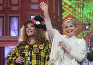 Рождественские встречи: Gallina просит вырезать песню, во время которой на сцене появилась Тимошенко
