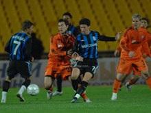 Высшая лига: Шахтер проигрывает Черноморцу