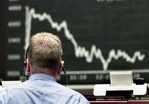 Украинский фондовый рынок открылся снижением на новостях из Европы
