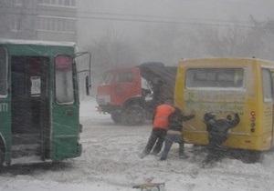 Одесса парализована: пытаясь добраться домой, водители бросали автомобили посреди улиц
