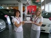 TME наградила Тойота Центр Киев Автосамит премией Ичибан