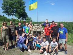 В Сумах впервые появился памятник борцам за свободу Украины