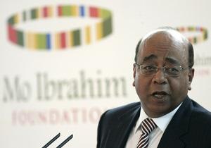 Среди африканских лидеров снова не нашлось кандидатов на крупнейшую в мире премию