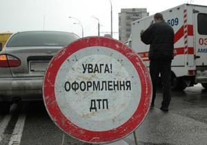 В Полтавской области столкнулись три автомобиля: один человек погиб