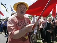 Антинатовские протесты КПУ в Одессе назвали цирковыми трюками