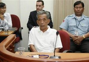 В Камбодже осужденному начальнику концлагеря  красных кхмеров сократили срок до 19 лет