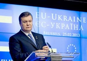 Ъ: Янукович затянул выполнение еще одного обязательства перед ЕС