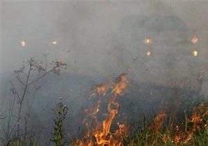 В заповеднике Аскания-Нова произошел пожар: выгорело 100 гектаров травы