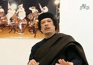 Силы НАТО атаковали телецентр во время обращения Каддафи
