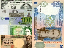 Курс валют и наличная валюта