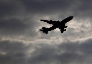 Самолет потерпел крушение при посадке