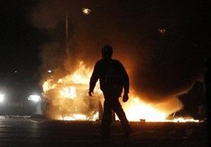 Прокурору Мукачево в день профессионального праздника сожгли новый Mercedes