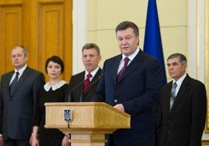Янукович: Кандидаты на должность судьи будут проходить специальную подготовку