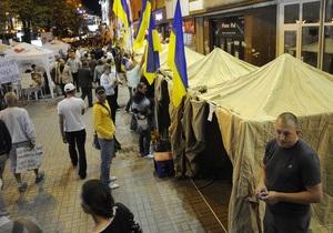 Калашников заявил, что не появлялся в нетрезвом состоянии в палаточном городке оппонентов