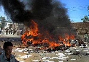 В Афганистане в результате взрыва погибли не менее 20 человек