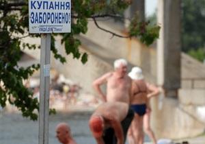 Четыре киевских пляжа закрыли из-за некачественной воды