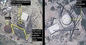Северная Корея установила купол над ядерным реактором
