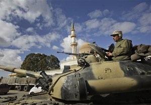 Войска Каддафи с трех сторон атакуют Мисрату: повстанцы заявляют о десяти погибших