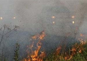 Пожары в России: в Волгоградской области зафиксировано восемь очагов возгорания