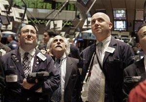 Украинские фондовые биржи закрылись падением