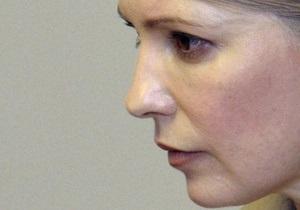 Тимошенко в очередной раз попросила суд рассматривать иск без нее