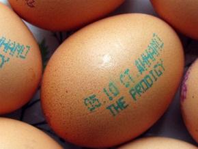 В Беларуси концерт The Prodigy рекламируют на яйцах
