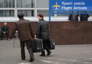 ЧП в Борисполе: Экипаж чартера в Шарм-эль-Шейх после вылета обнаружил неполадки в работе двигателя