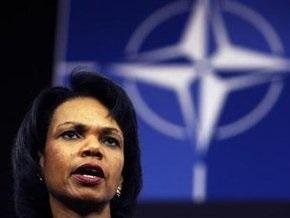 Райс: Вопрос будущего членства в НАТО для Украины и Грузии уже решен