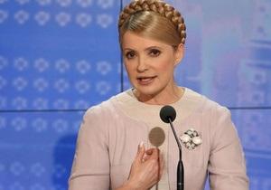 Тимошенко отрицает возможность сотрудничества с Януковичем после выборов