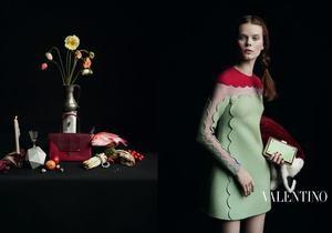 В новой рекламе Valentino снялась украинка