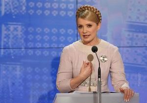 Тимошенко сегодня поучаствует в шоу Свобода слова