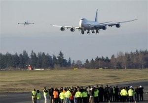 Грузовой Boeing 747-8 совершил первый полет
