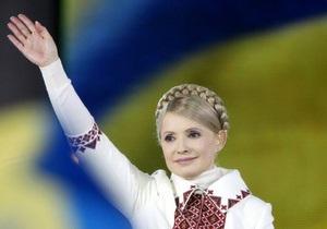 Тимошенко не боится своего №13 в избирательном бюллетене