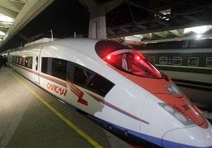 СМИ: ФСБ предотвратила подрыв поезда Сапсан