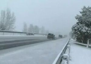 На Испанию и Францию обрушились сильные снегопады