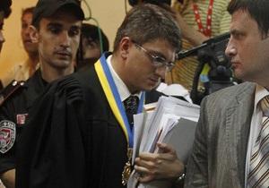 После восьмичасового допроса Тимошенко Киреев перенес заседание на завтра