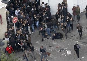 В Тунисе вновь проходят антиправительственные демонстрации