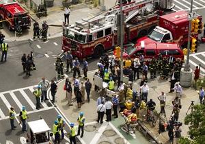 Как минимум 8 человек пострадали в результате взрыва в Нью-Йорке - ТВ