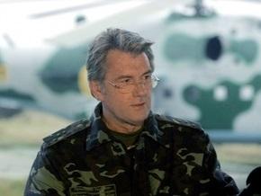 Кириченко отчитается Ющенко о состоянии боеготовности ВСУ
